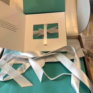 Tiffany gift box and bag